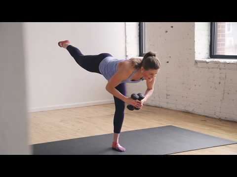 20-Minute Barre Class At-Home Workout Video