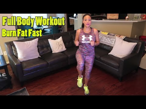 THE ULITMATE FAT BURNING CARDIO EXCERCISE!!! (WORKOUT VIDEO)