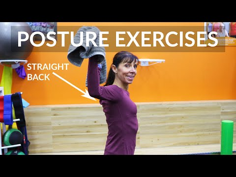 Posture Exercises for a Straight Back (Daily Physio Routine)