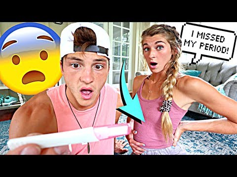 GIVING PREGNANCY HINTS To See How My Boyfriend Reacts!