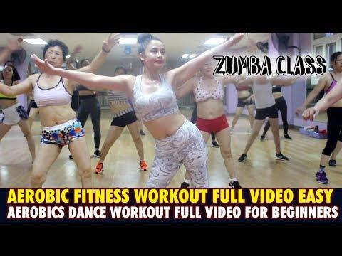 Aerobic fitness workout full video easy lAerobics dance workout full video for beginnerslZumba Class