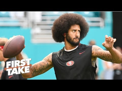 Does Colin Kaepernick's workout video help his NFL comeback chances? | First Take