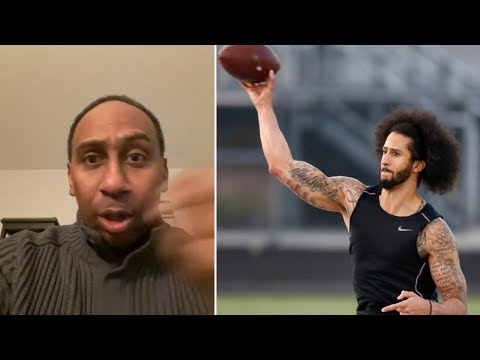 "Stephen A Smith RIPS Colin Kaepernick NFL Workout ""HE DOESNT WANT TO PLAY IN THE NFL"""