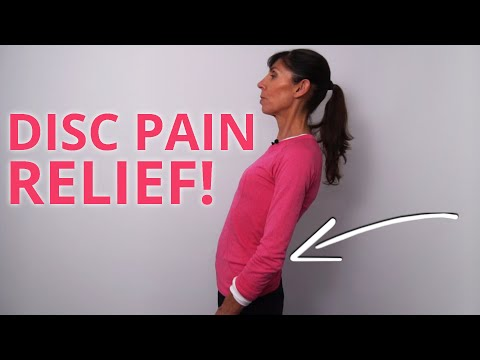 Back Pain Exercises for Lower Back Disc Relief