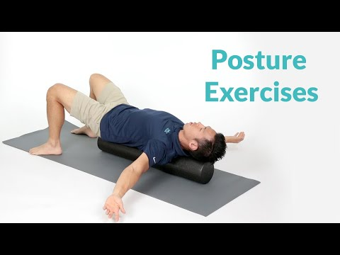 Posture Exercises for Lower Back Pain Relief