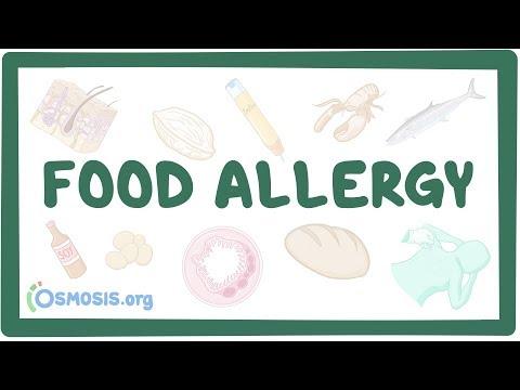 Food allergy – causes, symptoms, diagnosis, treatment, pathology