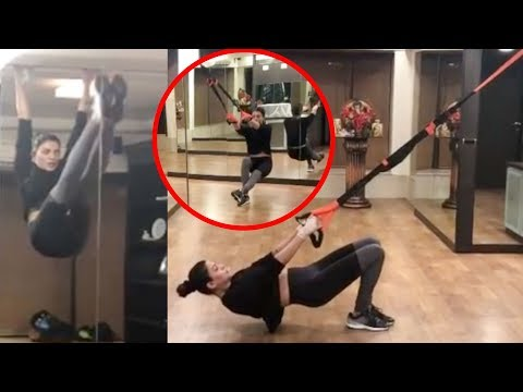 Sushmita Sen ENDS Year 2019 With A H0T Workout Video   Watch Video