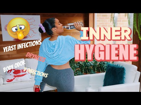 INNER Hygiene Routine: HOW TO Keep Vag Odor, Itch & Yeast Infections AWAY!! | Diet Tips & Boric Acid
