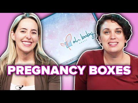 Pregnant Women Review Pregnancy Subscription Boxes