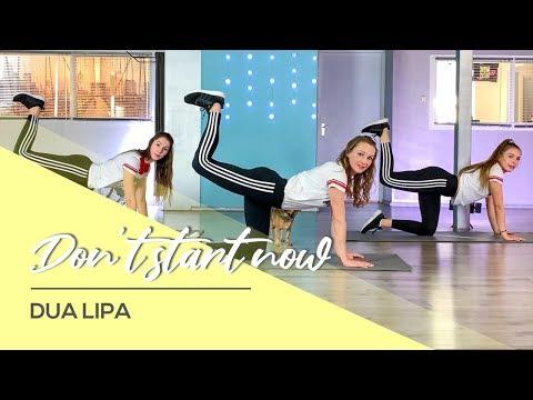 Dua Lipa – Don't start now – Booty Shaping Workout Video – Butt Burn – Home Fitness