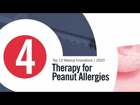 Therapy for Peanut Allergies