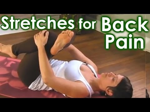 How To Yoga Stretches for Low Back Pain & Sciatica Relief by Jen Hilman
