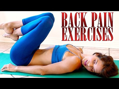 Back Pain Relief Exercises & Stretches – How To Relieve Back Pain At Home