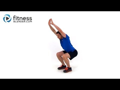Low Impact Cardio Workout – Bodyweight Quiet Cardio Workout Video to Tone Up Fast