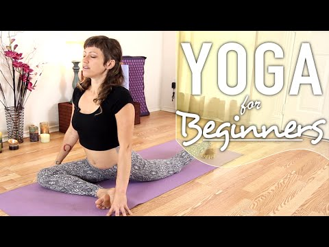 Yoga For Back Pain – 20 Minute Lower Back Stretch, & Sciatica Relief Flow
