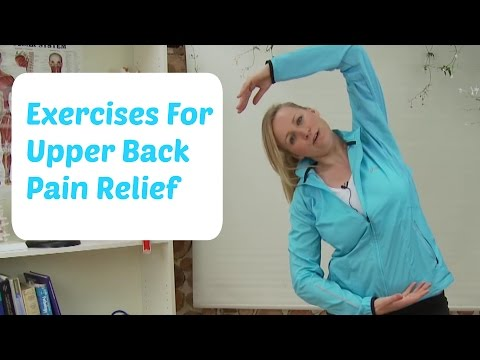 Exercises For Upper Back Pain Relief
