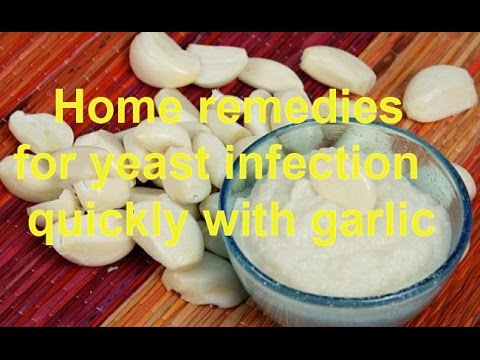 Home Remedies for Yeast Infection Quickly with Garlic