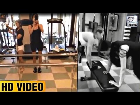 Kim Kardashian Shares Her Latest Workout Video | Lehren Hollywood