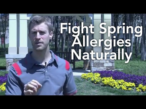 Fight Spring Allergies Naturally