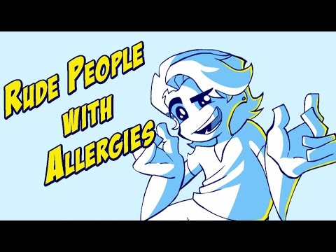Rude People With Allergies