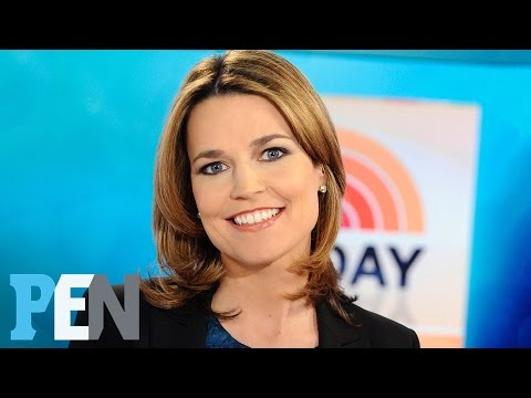 Today: Why Savannah Guthrie Was Very Superstitious About Her Pregnancy | PEN | People