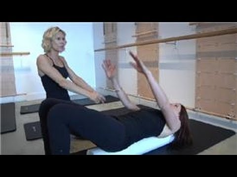 Pilates Exercises : Using a Foam Roller for Back Pain Relief
