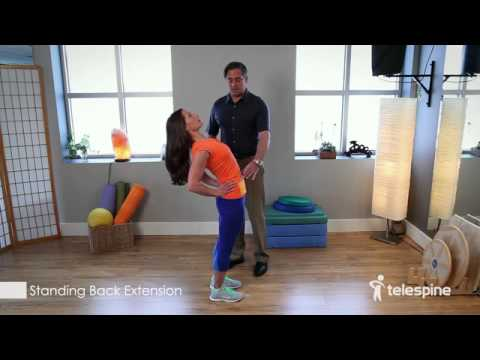 Standing Back Extension for Low Back Pain Relief