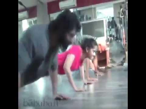 Bahubali workout video