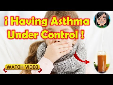 With This Natural Recipe You Can Have Asthma Under Control!