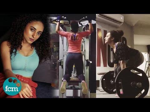 പേര്ളിയുടെ വൈറലായ വർക്ക് ഔട്ട് വിഡിയോ.!! Actress Pearle Maaney Fitness Workout Video