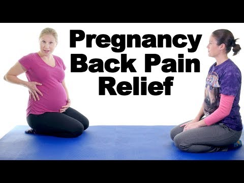 5 Best Pregnancy Lower Back Pain Relief Exercises – Ask Doctor Jo