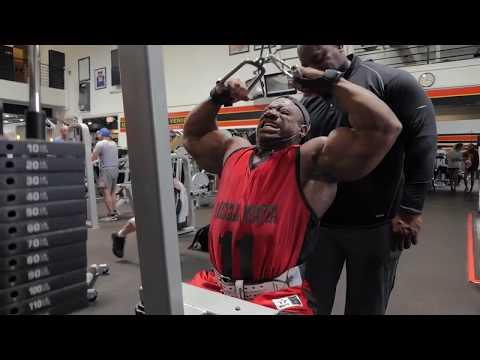 Back and Shoulder – Workout video – Dexter Jackson