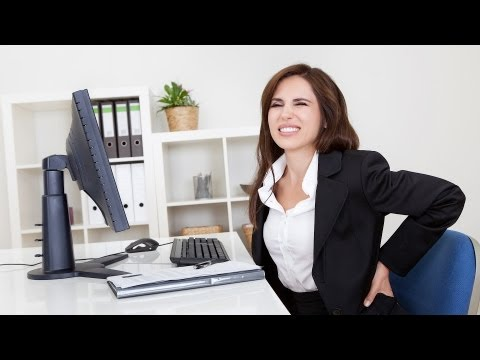How to Relieve Back Pain at Work | Back Pain Relief