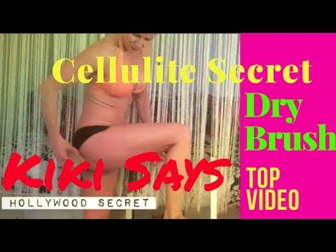 How to Get Rid of #Cellulite – How to Dry Brush