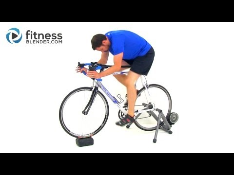 Free Indoor Cycling Workout Video – Interval Cardo Training on an Exercise Bike