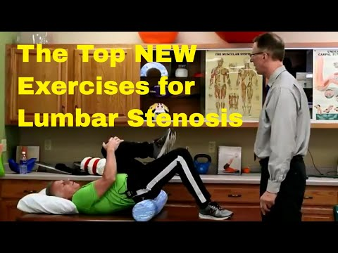 The Top NEW Exercises for Lumbar Stenosis for Back/Leg Pain Relief.