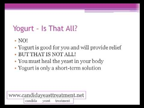 Yogurt Yeast Infection