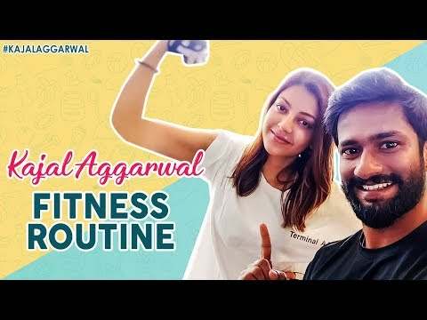 Kajal Aggarwal Latest Workout Video | Fitness Routine | Functional Training