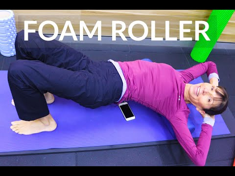 Foam Roller for Back Pain and Stiffness – Physical Therapist Exercises