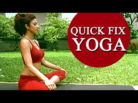 Shilpa Shetty's 'Quick Fix Yoga' – 15 min Full Body Workout