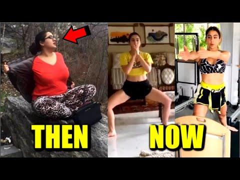 Sara Ali Khan Weight Loss Journey FULL Video | Workout Video