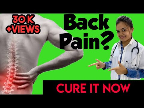 Back pain relief exercises in Hindi I How to cure back pain in Hindi I back stretches