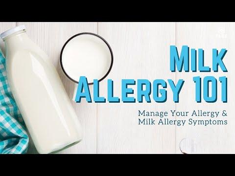 Food Allergy 101: Manage Milk Allergies | Milk Allergy Symptom