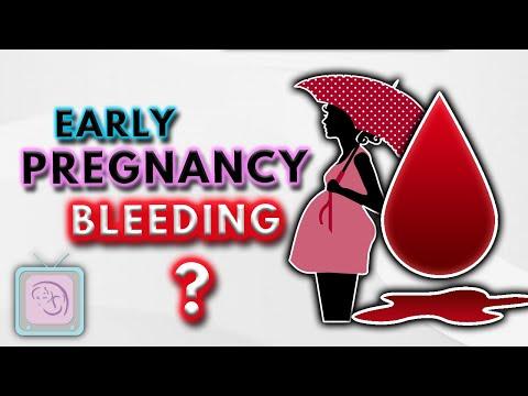 Implantation bleeding, early pregnancy bleeding & spotting: 10 Important facts