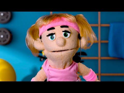 Racist Workout | Awkward Puppets