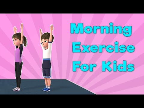 Morning Exercise for kids: Wake Up Exercises | Kids Workout Video | Fitness | NuNu Tv