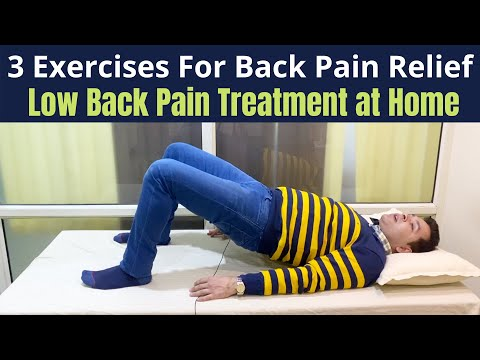 Daily Exercises for Back Pain, How to Treat Back Pain at Home, How to sit in Back Pain, Back Care