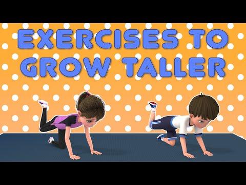 Kids Exercise To Grow Taller | Kids Workout Video | NuNu Tv- Kids Fitness Ch-15