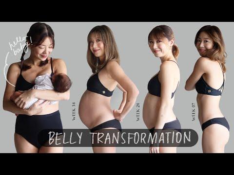 Pregnancy  Transformation (Week by Week) | Kryz Uy