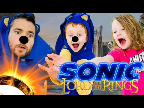 Kids Workout! SONIC! LORD OF THE RINGS GYM CLASS! Real-Life VIDEO GAME! Kids Workout Videos DANCE PE